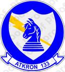 STICKER USN VA 133 Blue Knights