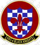 STICKER USN HSC  4 Black Knights
