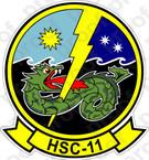 STICKER USN HSC 11 Dragonslayers