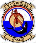 STICKER USN HSM 37 Easyriders