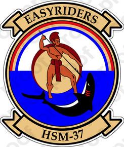 Sticker Usn Hsm 37 Easyriders M C Graphic Decals