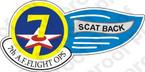 STICKER USAF 7TH AF FLIGHT OPS