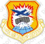 STICKER USAF 64TH AIR DIVISION