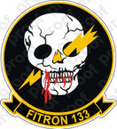 STICKER USN VF 133 FITRON