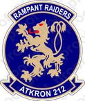 STICKER USN VA 212 RAMPANT RAIDERS