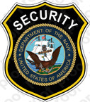 STICKER USN NAVY SECURITY OFFICER