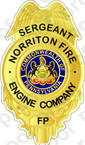 STICKER NORRITON FIRE DEPARTMENT