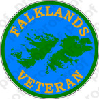 STICKER FALKLANDS VETERAN