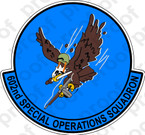 STICKER USAF 602ND SPECIAL OPERATIONS SQUADRON
