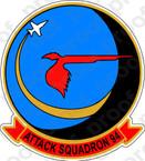 STICKER USN VA  94 Mighty Shrike 1965