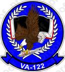 STICKER USN VA 122 FLYING EAGLES