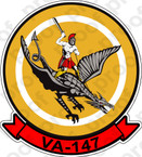 STICKER USN VA 147 Argonauts