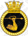 British Navy HMS Agamemnon Sticker