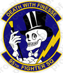 Copy of Copy of STICKER USAF  95TH FIGHTER SQUADRON C