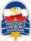 STICKER US ARMY FREEDOM'S GUARDIAN A