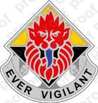 STICKER US ARMY 18TH POLICE BRIGADE MP DUI