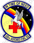 STICKER USAF 459TH AEROMED EVAC SQ