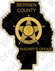 STICKER CIVIL BERRIEN COUNTY SHERIFF SSI