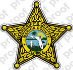 STICKER SHERIFF MARION COUNTY