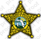 STICKER SHERIFF SEMINOLE COUNTY