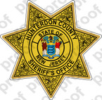 Stickler Police Hunterdon County Sheriff Department Badge