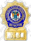 STICKER BLOOMFIELD POLICE DETECTIVE