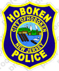 STICKER CIVIL HOBOKEN POLICE NEW