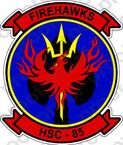 STICKER USN HSC 85 FIREHAWKS