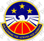 STICKER USAF 6TH COMMUNICATION SQUADRON