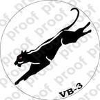 STICKER USN VB 3 BLACK PANTHERS