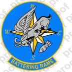 STICKER USN VB 82 BATTERING RAMS