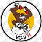 STICKER USN VC 11 COMPOSITE SQUADRON