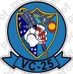 STICKER USN VC 25 COMPOSITE SQUADRON