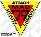 STICKER USMC MAG 29 A