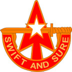 STICKERS US ARMY UNIT 32nd Air Defense Artillery