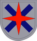 STICKERS US ARMY UNIT 14TH CORPS SHIELD
