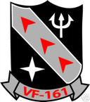 STICKER USN VF 161 FIGHTER SQUADRON
