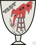 STICKER USN VF 114 FIGHTER SQUADRON FAR EAST