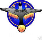 STICKER USN VF  66 FIGHTER SQUADRON FIREBIRD