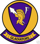 STICKER USN VF  62 FIGHTER SQUADRON GLADIATORS