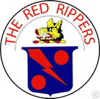 STICKER USN VF  11 FIGHTER SQUADRON RED RIPPERS