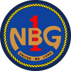 STICKER USN VET U.S. NAVAL BEACH GROUP ONE