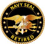 STICKER USN VET Navy Seal Retired