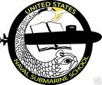 STICKER USN US NAVY SUBMARINE SCHOOL