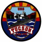 STICKER USN US NAVY SSN 770 TUCSON SUBMARINE