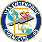 STICKER USN US NAVY CVn 65 USS ENTERPRISE CARRIER