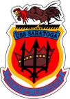 STICKER USN US NAVY CV 60 USS SARATOGA CARRIER