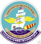 STICKER USN US NAVY CV 31 USS BON HOMME RICHARD