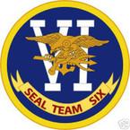 STICKER USN UNIT NAVY SEAL TEAM  6