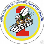 STICKER USN UNIT NAVAL AMPHIBIOUS CONSTRUCTION